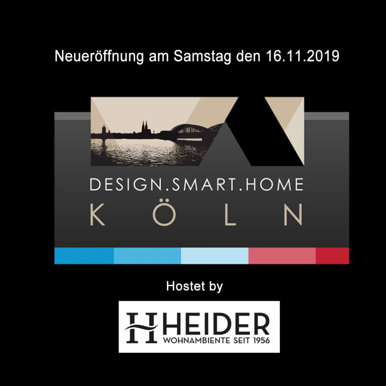 Eröffnung Design Smart Home